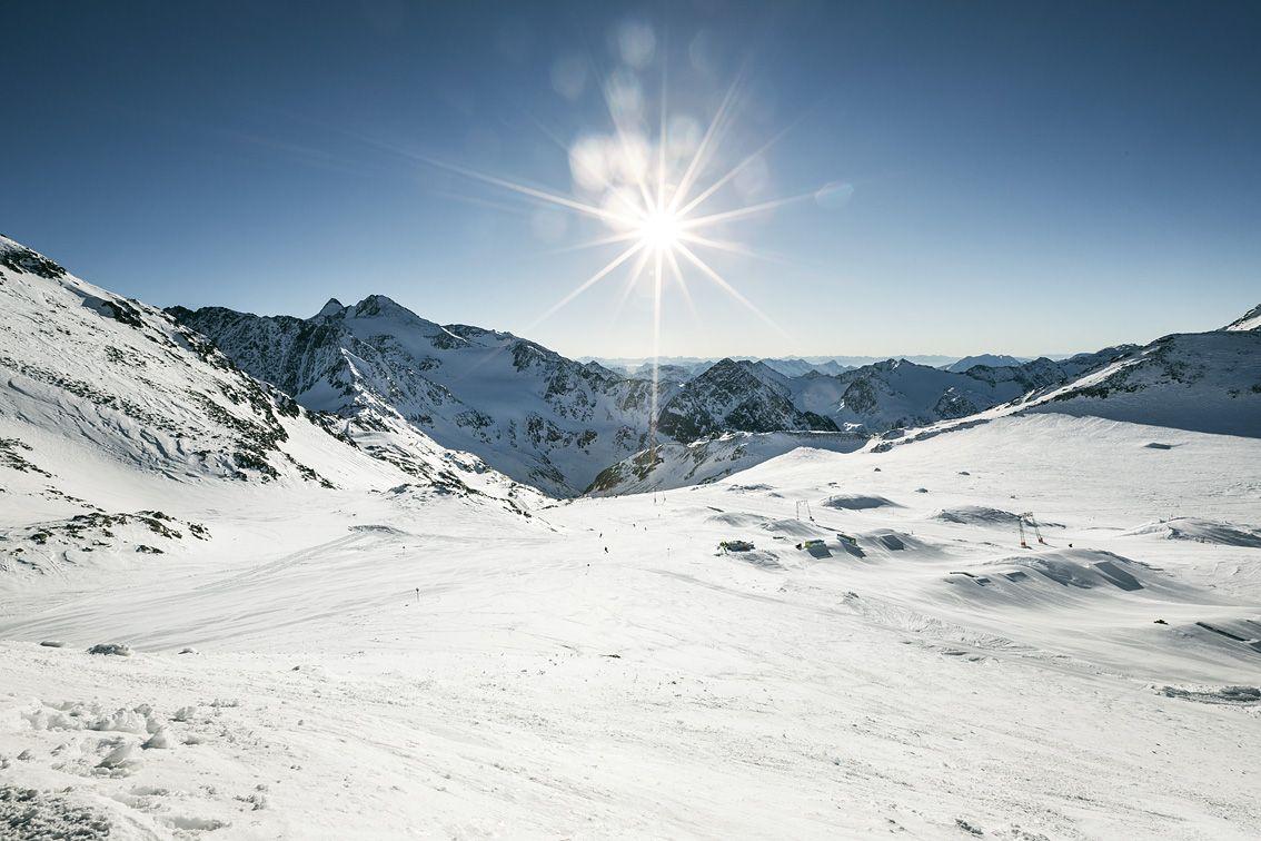 The Stubai Glacier