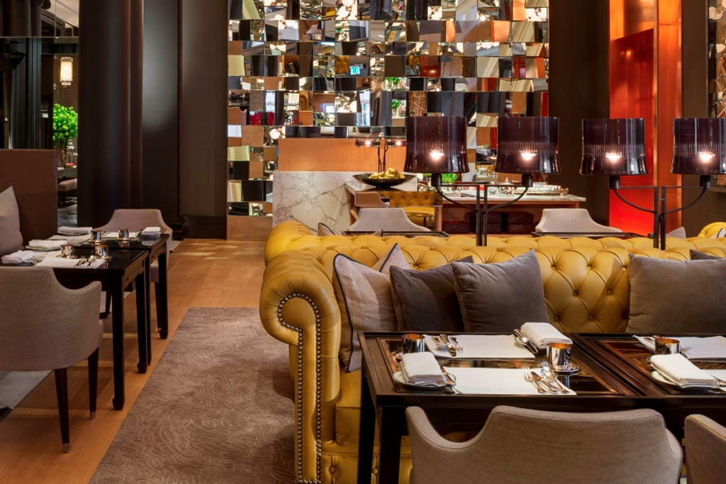 The Mirror Room at Rosewood London