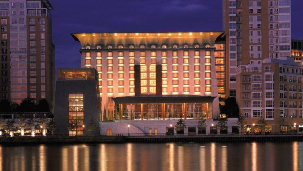 The Four Seasons Hotel Canary Wharf