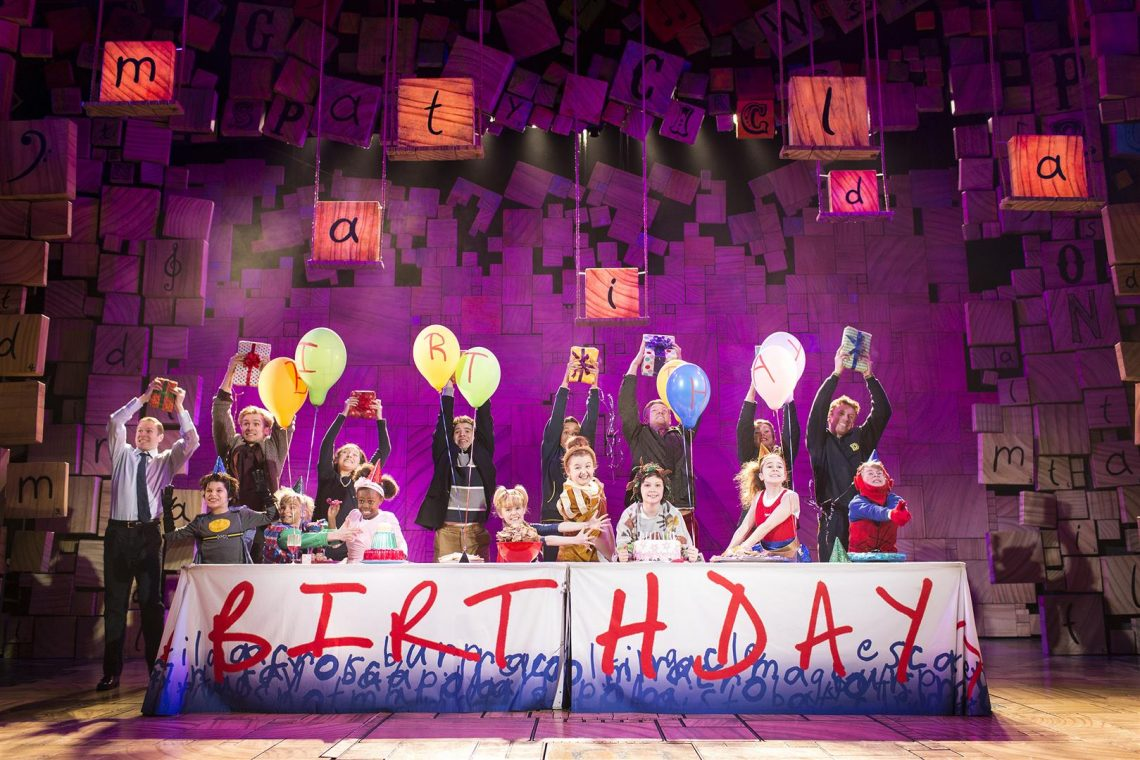 Matilda the Musical celebrates 5th Birthday in London's West End