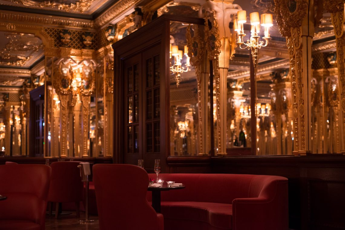 Oscar Wilde Bar at Hotel Café Royal