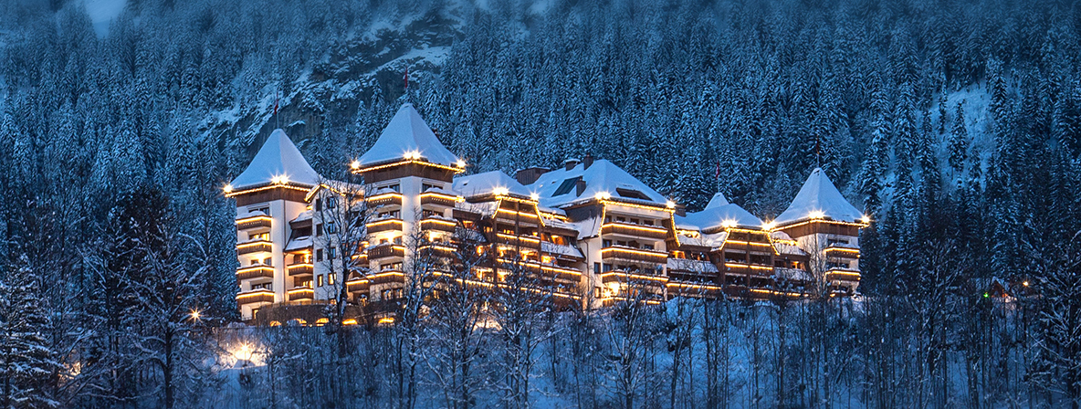 The Alpina Gstaad: Out of this World