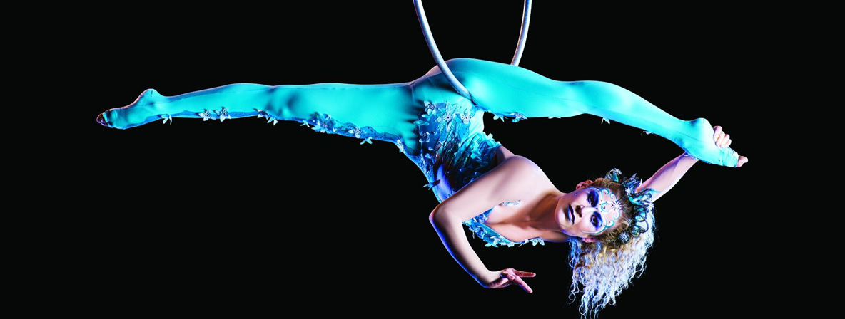 Combining strength and grace at Amaluna by Cirque du Soleil