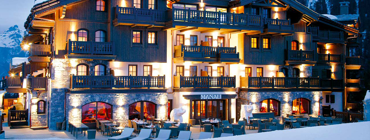 Himalayan, Canadian & Swiss styles in the Alps at Hotel Manali