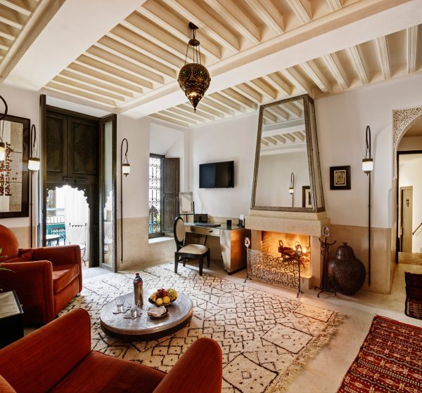 Riad Farnatchi, Marrakech. Photo by Alan Keohane www.still-images.net