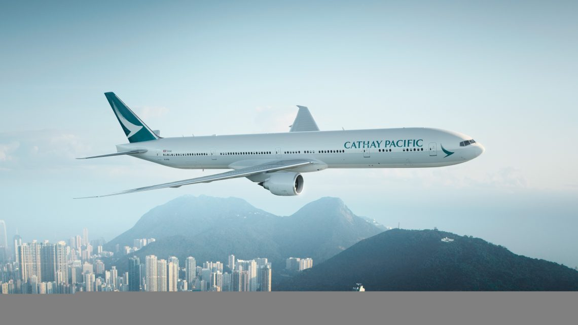 Business Class with Cathay Pacific