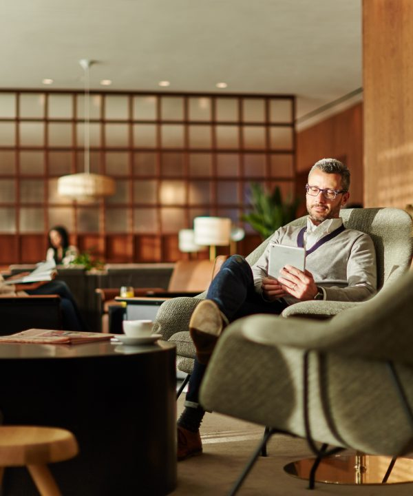 Cathay Pacific's reopened Heathrow lounge