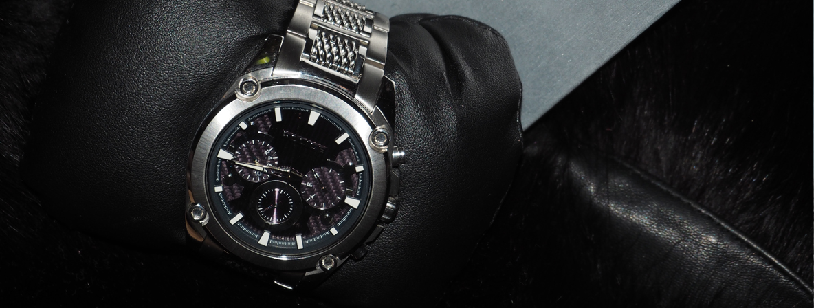 The POLICE Lifestyle Mesh Up Timepiece