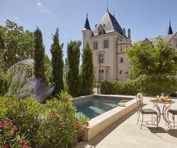 Château Les Carrasse Pool