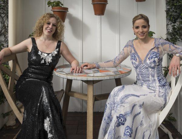 Grammy Award Nominee, World Music Album Ella Spira and Pietra Mello-Pittman, Sisters Grimm