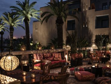 Four Seasons Hotel & Resort, Marrakech. Photo by Alan Keohane www.still-images.net