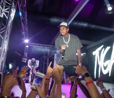 Tyga em palco