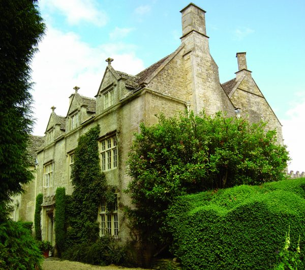 Barnsley House - a view from the front