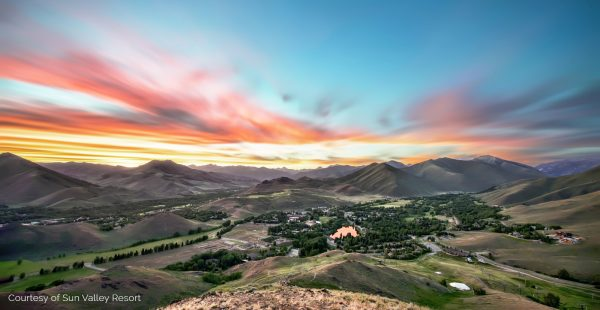 Sunvalley sunset