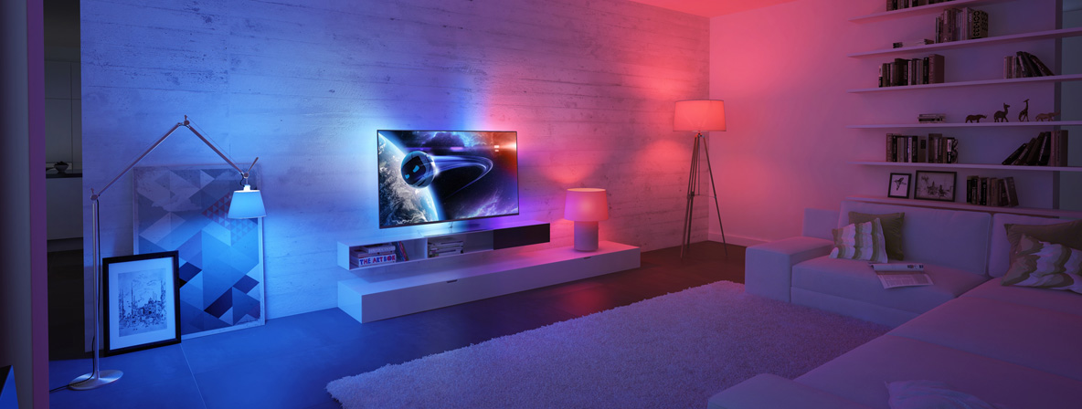 Launch of the new Ambilight TV Range with Rod White
