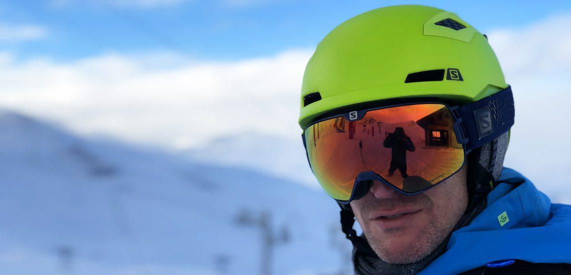 Salomon Goggles and Helmet