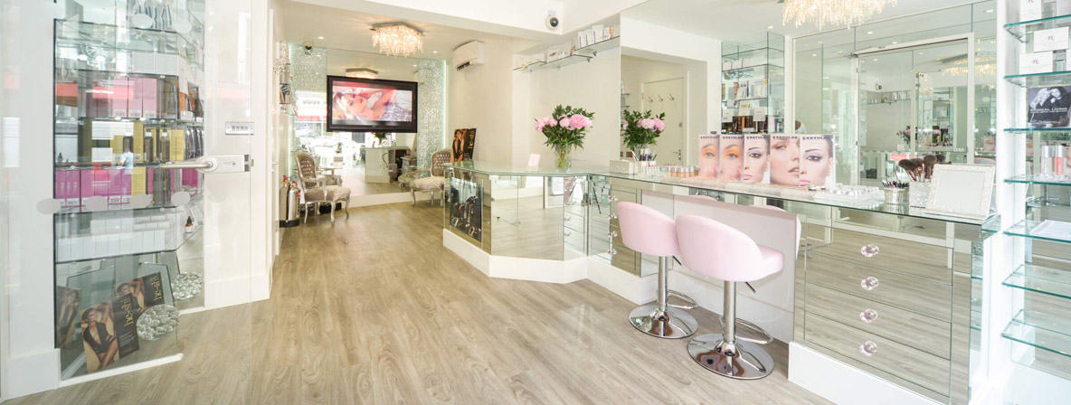 Life-changing eye brow treatment at Tracie Giles London