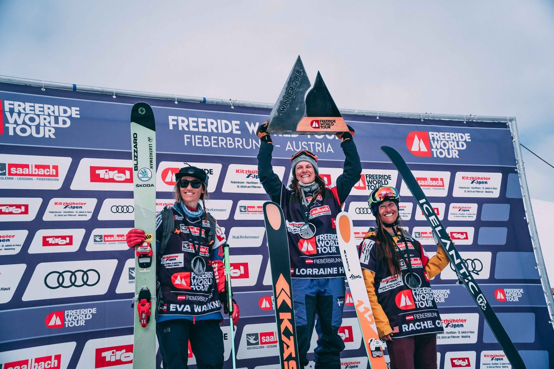 Freeride World Tour in Fieberbrunn
