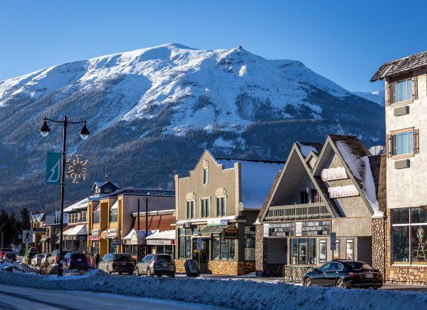 Jasper town in Alberta