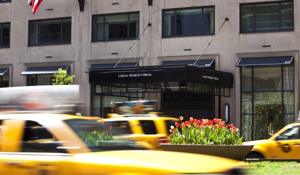 Park Ave Entrance Hires Loews New York Regency