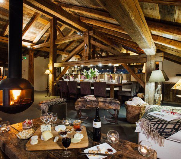 Chalet Bizet Living Room