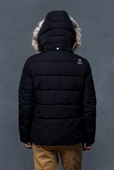 Baxk of Explorer Jacket