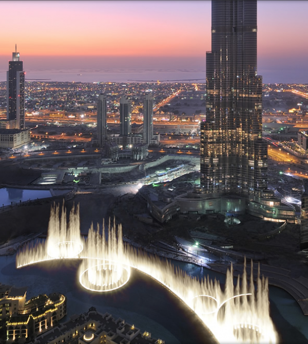Burj Fountains