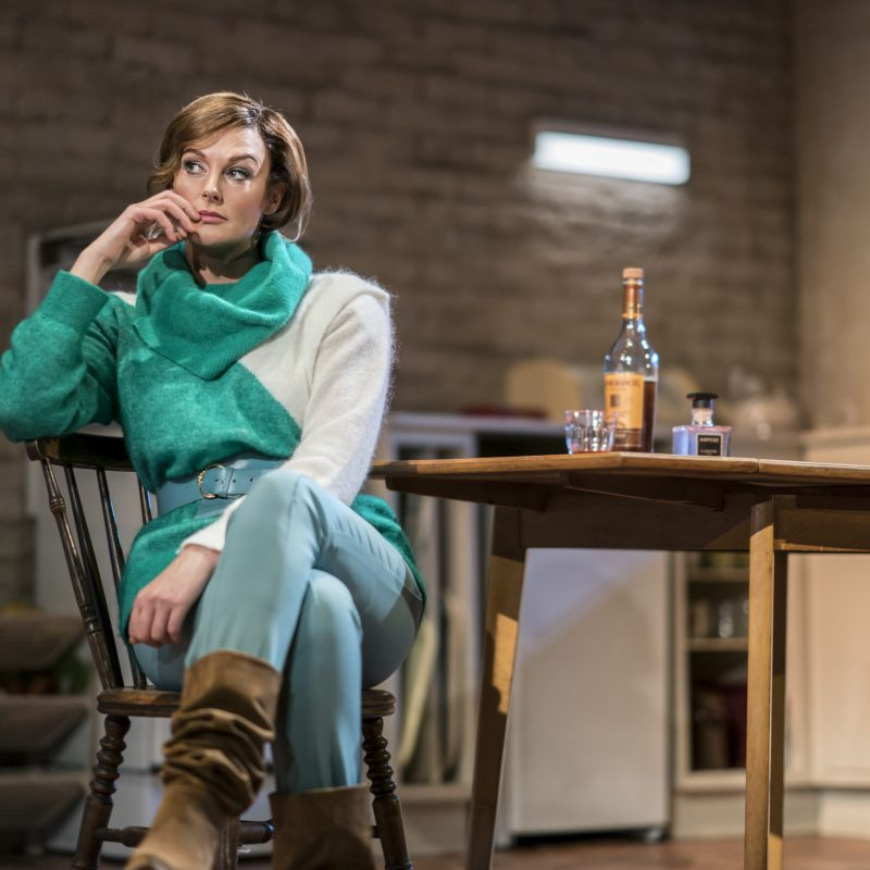 TOP GIRLS by Churchill,            , Writer - Caryl Churchill,  Director - Lyndsey Turner, Set Designer - Ian MacNeill, Costume Designer - Merle Hensel, Lighting - Jack Knowles, The National Theatre, 2019, Credit: Johan Persson/