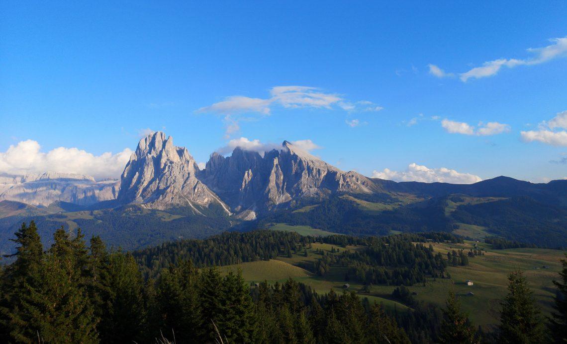 Val Gardena, Burning Dolomites