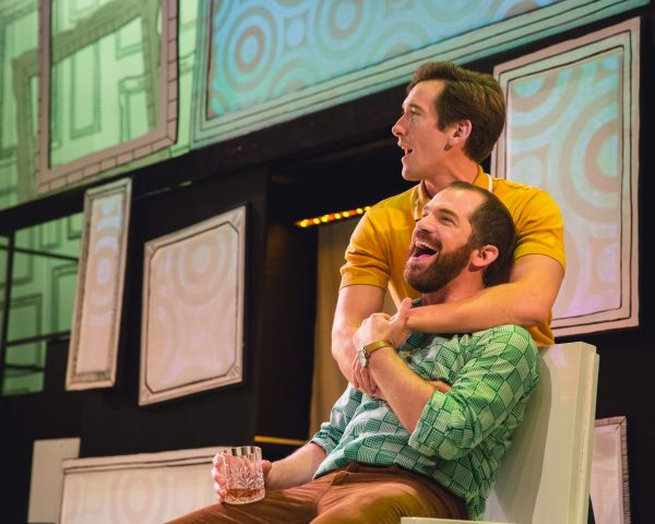 Daniel Boys (Marvin) & Oliver Savile (Whizzer) - Falsettos - The Other Palace - Photos By The Standout Company (037)