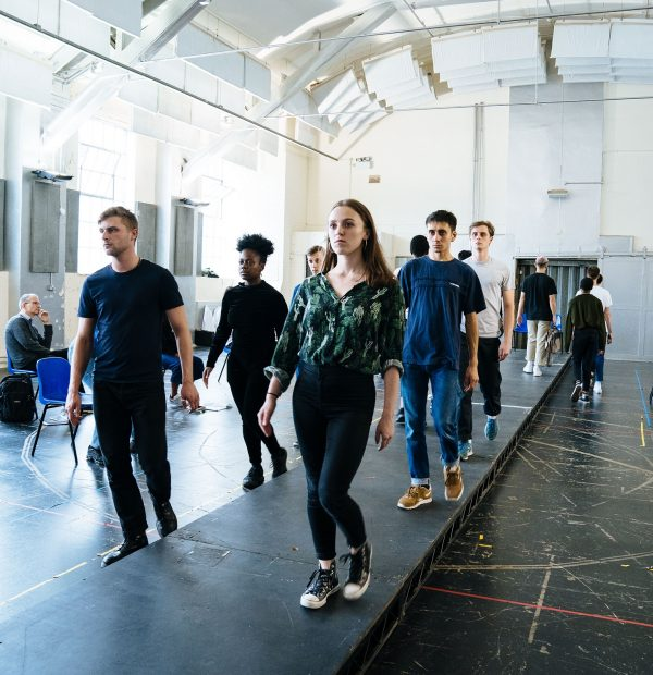 FRANKENSTEIN by Mary Shelley Adapted by Carl Miller ; Rehearsals ; Directed by Emily Gray ; National Youth Theatre ; London, UK ; NYT ; 16 August 2019 ; Credit and copyright: Helen Murray
