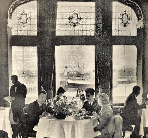 vintage lobby ounge fairmont empress