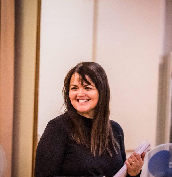 Miranda Larson (Writer:Director) Friendsical, Rehearsal Images by MatthewPain-27
