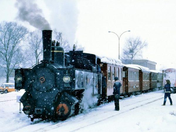 Zillertalbahn steam engine