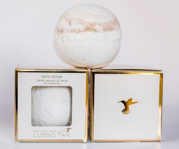 Lusso Tan Bath Bomb