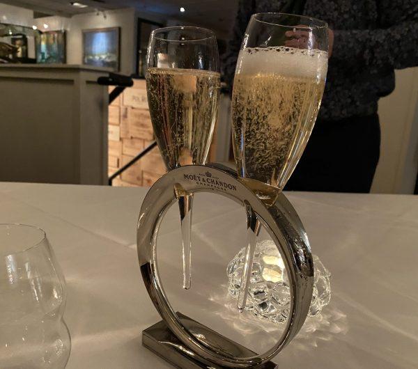 Bearfoot Bistro champagne