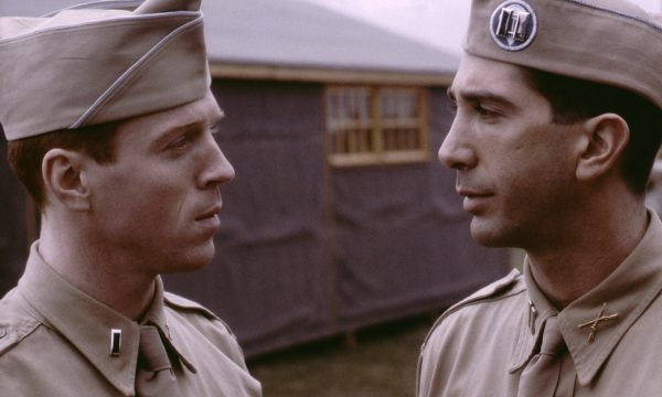 In 1942, a disparate group of young men begin their training to become paratroopers under disciplinarian Captain Herbert Sobel (David Schwimmer).