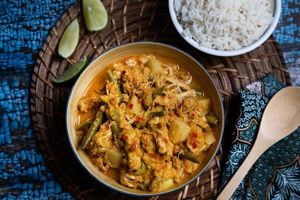 Makan Malaysia Kapitan curry