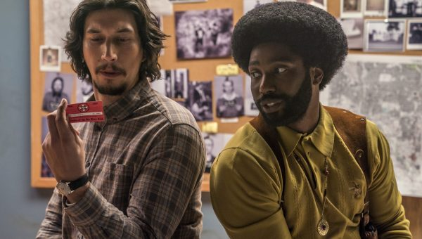 """Directed by acclaimed filmmaker Spike Lee, """"BlacKkKlansman"""" is based on the incredible true story of Ron Stallworth (John David Washington), Colorado Springs's first African-American police officer who successfully infiltrated the Ku Klux Klan in the 1970s. With the help of his partner Flip Zimmerman (Adam Driver), Stallworth was able to deceive Grand Wizard David Duke (Topher Grace) and rise through the ranks of the KKK to become the head of a local chapter in Colorado."""