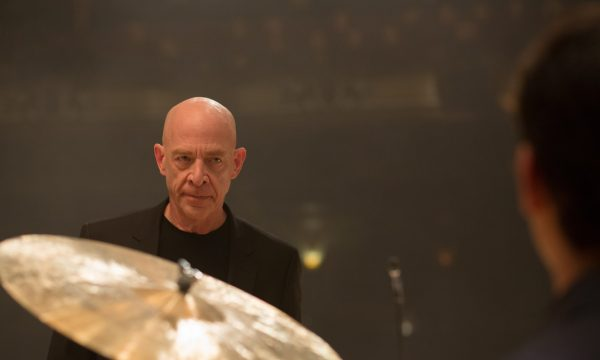 Whiplash. Miles Teller as Andrew Neiman, an ambitious young jazz student at Shaffer who plays the drums. J. K. Simmons as Terence Fletcher, the jazz instructor at Shaffer.