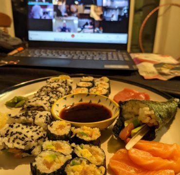 avenue online sushi class
