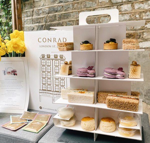 Conrad Easter Tea Display