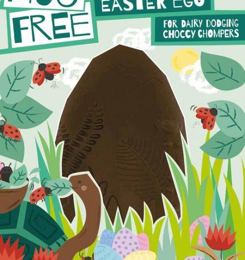 Moo free chocolate Easter egg
