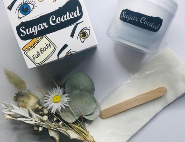 Sugar coated wax