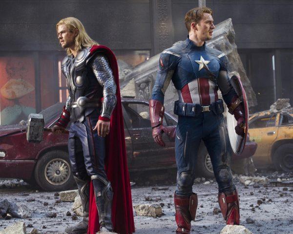 SAGA Thor and Captain America
