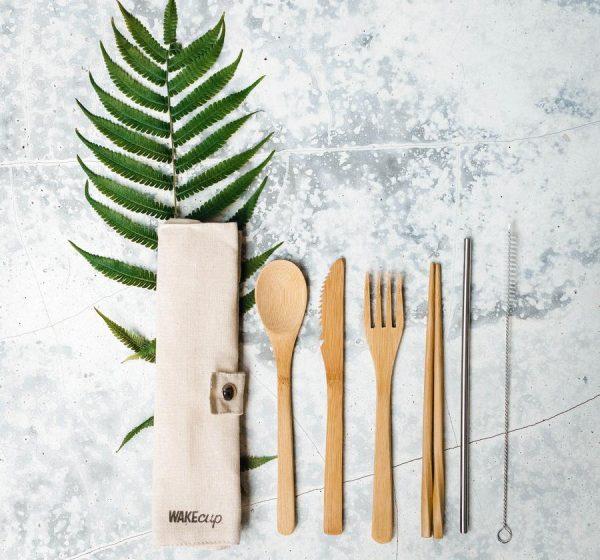 wake cup cutlery