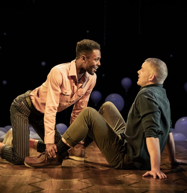 Omari Douglas and Russell Tovey c Marc Brenner 1154_
