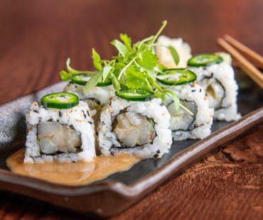 Spicy Hiramasa maki