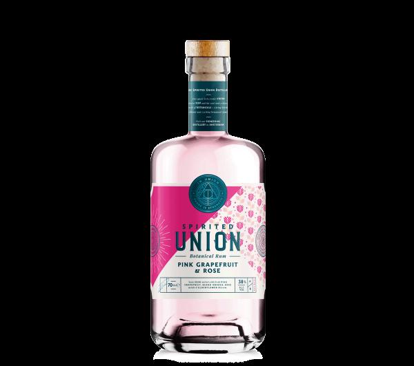 Spirited Union Pink-Grapefruit-Rose Rum