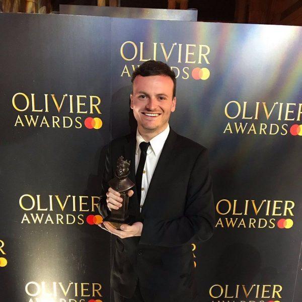Jamie-Eastlake-Olivier-Award-at-Londons-Royal-Albert-Hall